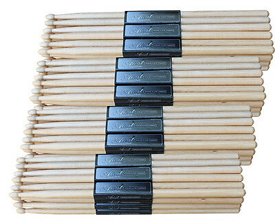 Artist DSO7A Oak 7A Drumsticks with Wooden Tips - 48 Pairs - New