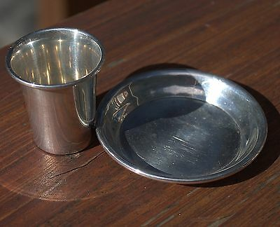 Beautiful Vintage English Solid Sterling Silver Coins & Odds & Ends Holder