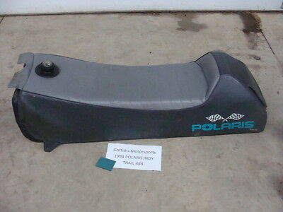94 93 92 POLARIS INDY TRAIL 488 500 fan SEAT GAS FUEL TANK COMBO OEM COVER NICE