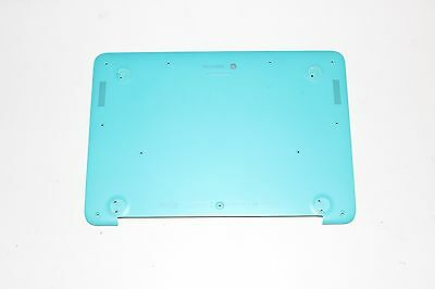 """HP Chromebook 14-X010WM PC 14/"""" Bottom Case Cover 32Y09TP603 Turquoise GENUINE"""