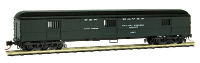 Micro-Trains MTL N-Scale 70ft Heavyweight Horse Car New Haven/NH #3841