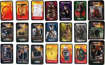 Doctor Who THE HUNT FOR GALLIFREY Cluedo CARDS (Assorted Cards) 12th Doctor