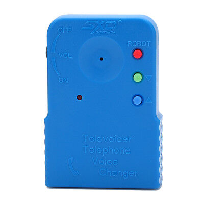 Useful Blue ABS 206a Handheld Telephone Voice Changer
