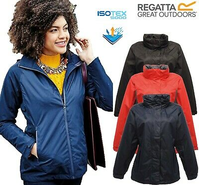 Regatta Ladies Womens Lightweight Breathable Waterproof Haruna/ Ashford Jackets