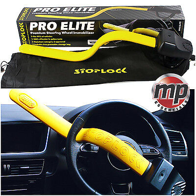 Stoplock Pro Elite Anti Theft Security Lock for Alfa Romeo GT 04> Steering Wheel