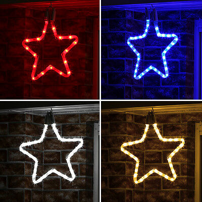 Connectable 24V Outdoor Garden Christmas Star Silhouette Decoration Led Light