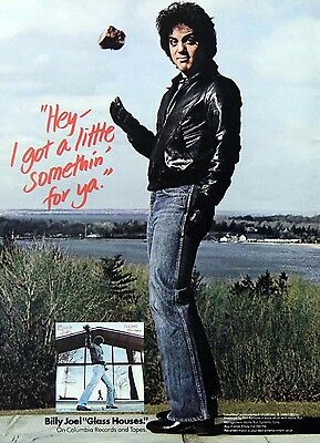 Billy Joel Vintage & Rare 1970s - 1980s Promotional Ads Collection Cashbox