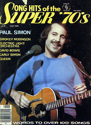 Paul Simon 1972 - 1990 Magazine Covers & Articles Collection