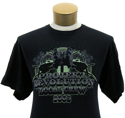 Linkin Park 2008 Project Revolution Tour Official Local Crew T-Shirt (XL)
