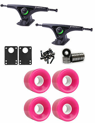 Bear Longboard Trucks Wheels Package 59mm x 43mm 78A 806C Pink