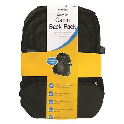 Cabin Carry On Bag Backpack Flight Approved  Expand Hand Luggage Back Pack Case