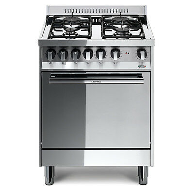 Lofra M65GV gas stove, 4 burners, gas oven 57 litres, class A 60x50 cm IE
