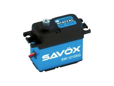 Savox SW1210SG Waterproof Coreless Digital Servo .15/277.7 Aluminum Cas SW1210SG