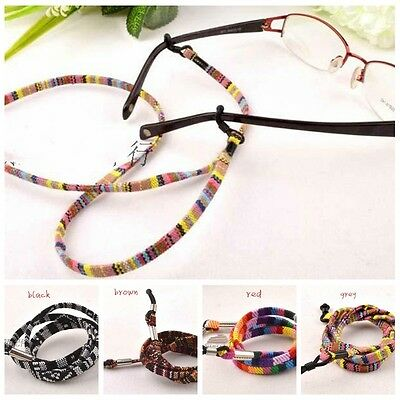Handmade Vintage Ethnic Glasses Necklace Strap Lanyard Chain Sunglasses Holder