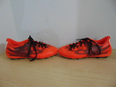 Soccer Shoes Cleats Child Size 3  Adidas Red Black 20.00 Fantastic Quality