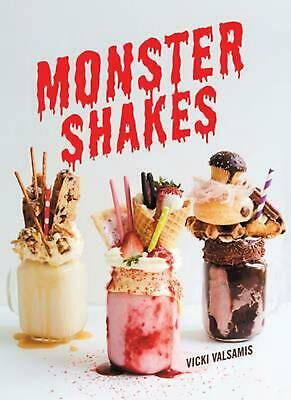 Monster Shakes by Vicki Valsamis Hardcover Book Free Shipping!