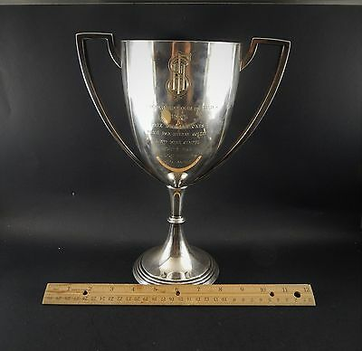 Christofle Silverplate Horse Show Trophy 1932 Concours Hippique de Paris 11.25""