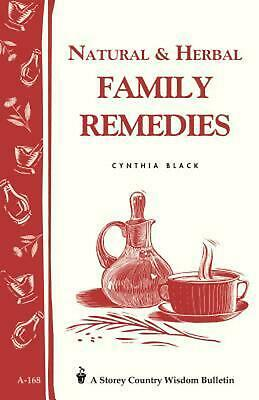 Natural & Herbal Family Remedies by Cynthia Black (English) Paperback Book Free