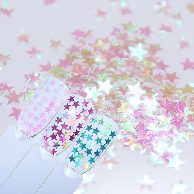 BORN PRETTY Nail Glitter Sequins Flakes Star Design Nail Art Paillette DIY