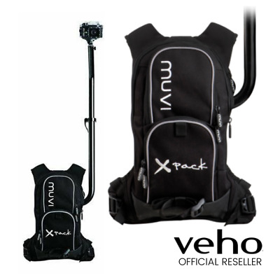 New Veho Muvi X-Pack Wearable Hands Free Mounting Camera Rig For Muvi And Gopro