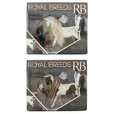 Royal Breeds Kiss n Nuzzle Horses,  Entertainment by Lanard Toys Limited