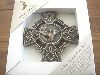 Celtic Cross of Peace and Prayer, Wild Goose Studio, boxed