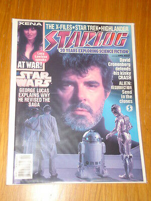 Starlog #237 Sci-Fi Magazine April 1997 Star Wars Xena X-Files Star Trek