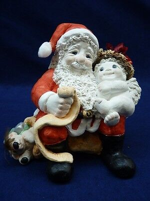 Dreamsicles Cherub With Santa (h1207)