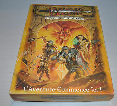 DUNGEONS & DRAGONS Jeu d'Aventure French RPG GAME Complete 2001 D&D