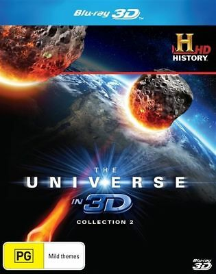 The Universe In 3D: Collection 2 (Blu-ray, 2014), NEW AUSTRALIAN