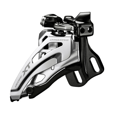 Shimano Deore XT M8020 E-Type Front Derailleur Side Swing Front Pull 2x11 Speed