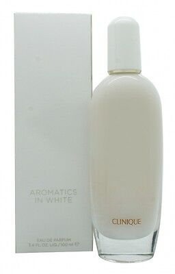 Clinique Aromatics In White Eau De Parfum 100Ml Spray - Women's For Her. New