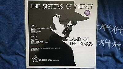 VERY RARE The Sisters of Mercy Land of the Kings Purple Vinyl 1st Pressing
