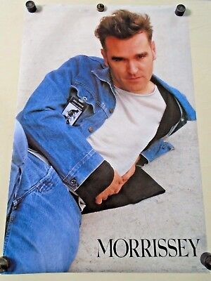 """Morrissey - Orig. vintage Poster #8134 / exc. new cond. 23 x 35"""" printed in """"91"""""""