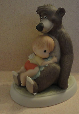 Precious Moments Disney THE SIMPLE BARE NECESSITIES Jungle Book Mint with Box
