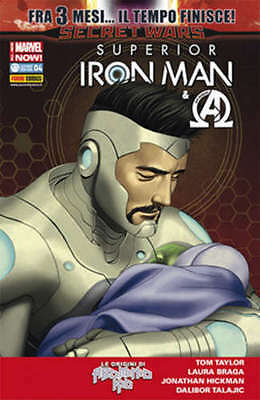 Iron Man 29 - Superior Iron Man 4 - Panini Comics - Sconto 50%