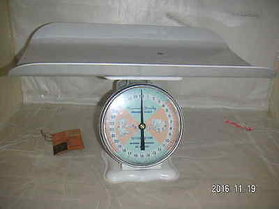 AMERICAN FAMILY 4500 Vintage 30 lb BABY Nursery Weight SCALE * shipping package