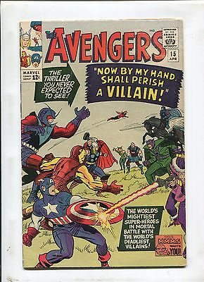 The Avengers #15 (4.0) Now By My Hand Shall Perish A Villain!