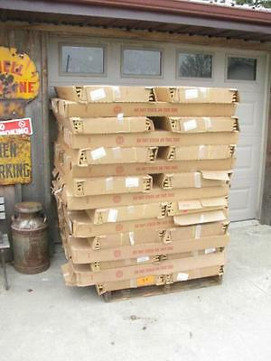 "60 New Lozier Store Gondola Shelving 48"" by 19"" NIB FREE 48 STATE SHIPPING"