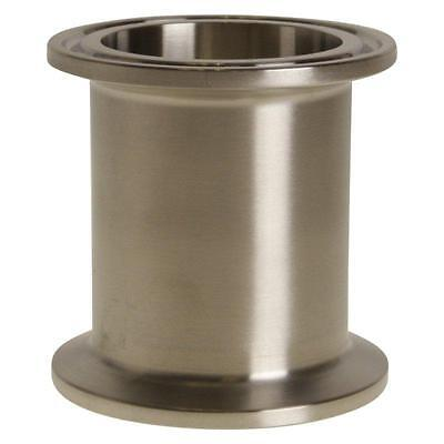 "Spool | Tri Clamp 1.5"" x 2"" - Sanitary Stainless Steel SS304 (2 Pack)"