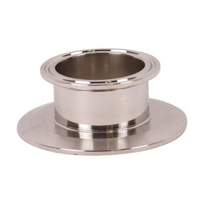 End Cap Reducer   Tri Clamp/Clover 3 inch x 2 - Sanitary SS304 (2 Pack)