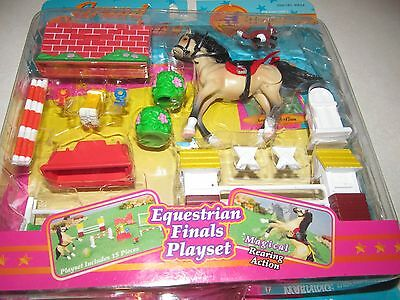 Grand Champions Adventure Playset Mini Pony Horse Stable Equestrian Accessory