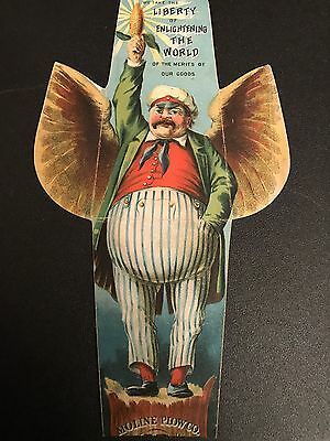 1890s Minneaplos-Moline Plow Co Flying Dutchman Sulky Advertising Trade Card