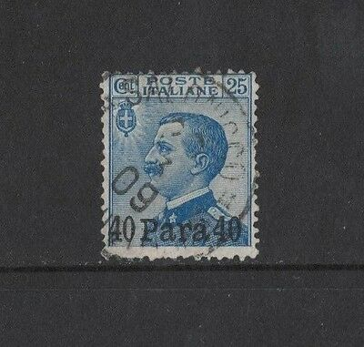 1908 Italian Post Offices in Europe SG 30 fine used