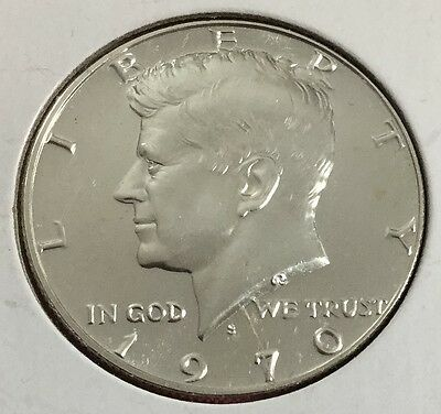 1970S US Proof SILVER Half Dollar! Old US Coins!