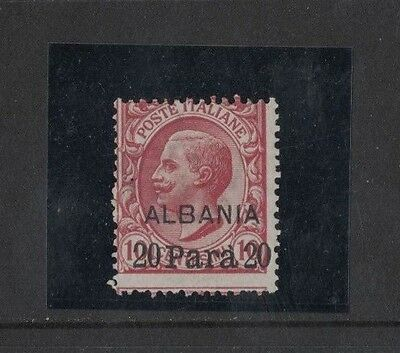1902 Italian Post Offices in Albania SG 25 mlh