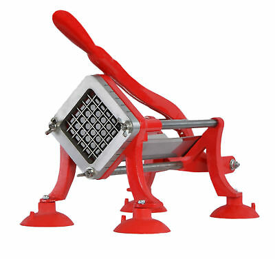 VIVO Commercial Grade Red French Fry Cutter / Potato Slicer /  1/2 inch Blade
