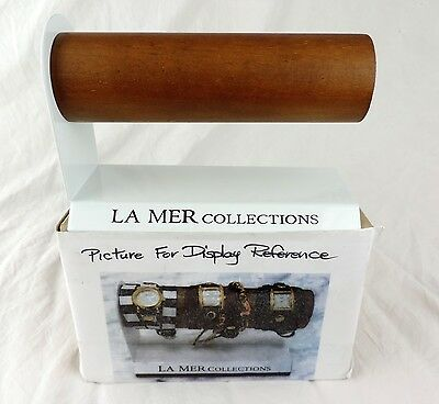 LA MER Collections Watch Counter Retail Store Display Bracelet Cuff NEW