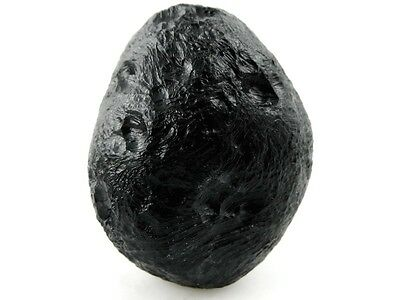 37g QUALITY ORIGINAL NATURAL BLACK TEKTITE ROUGH(METEORITE)SPACE ROCK#MA4012