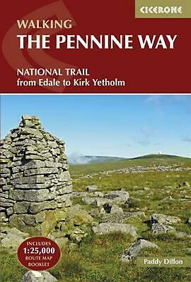 Pennine Way: From Edale to Kirk Yetholm by Paddy Dillon Paperback Book Free Ship